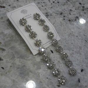 Kahala stone diamond earrings